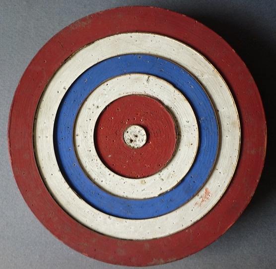 Cible fl chettes de bistrot jeu d 39 estaminet en bois broc 39 en 3 - Jeu de flechette en bois ...