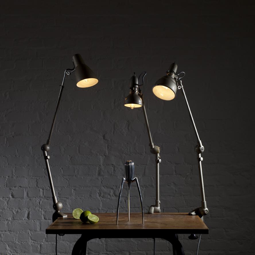 Connu Lampes articulées d'usine et atelier - BROC' EN' GUCHE QL35