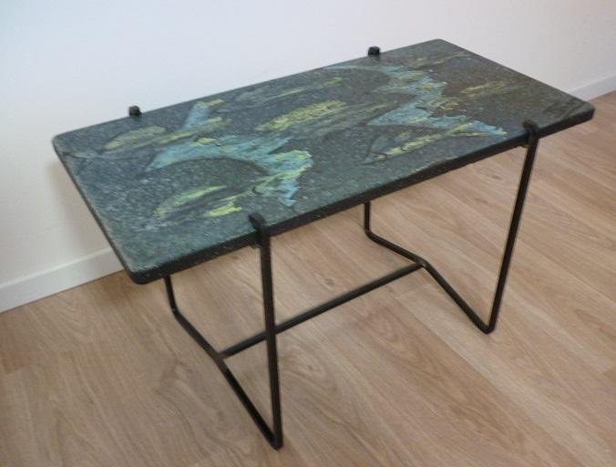 Table Basse Plateau Pierre De Lave – Phaichicom -> Plateau De Table Occasion Lave