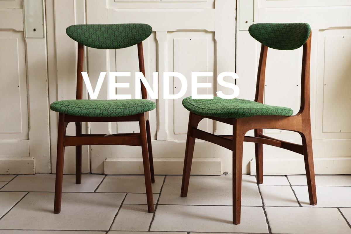 chaises ann es 1950 design polonais broc 39 en 39 guche. Black Bedroom Furniture Sets. Home Design Ideas