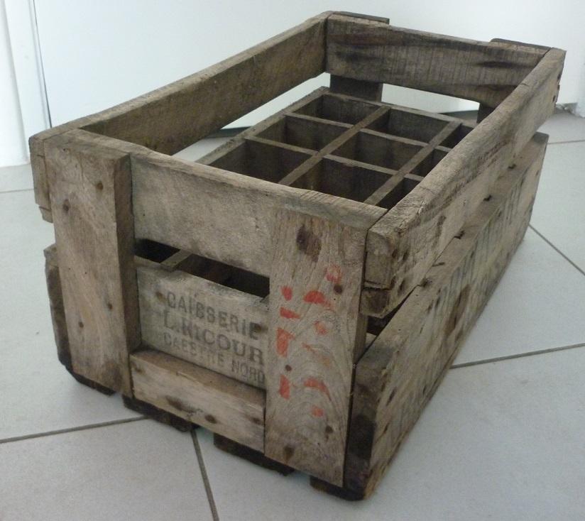 Restaurer une caisse en bois - Fabriquer casier bouteille bois ...