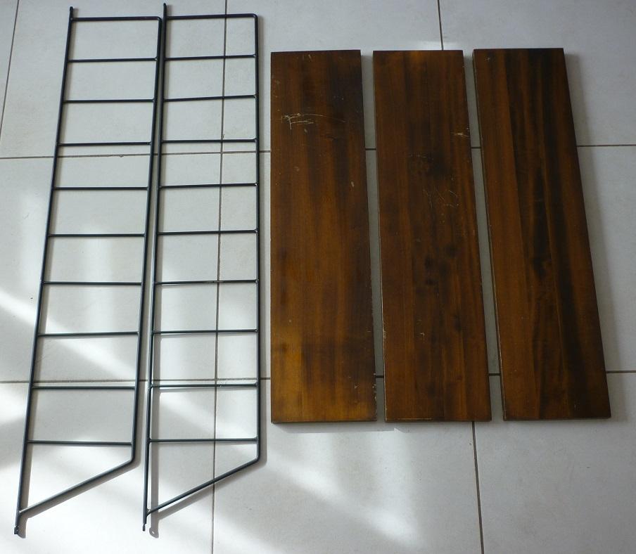 etag re murale design scandinave 1950 broc 39 en 39 guche. Black Bedroom Furniture Sets. Home Design Ideas