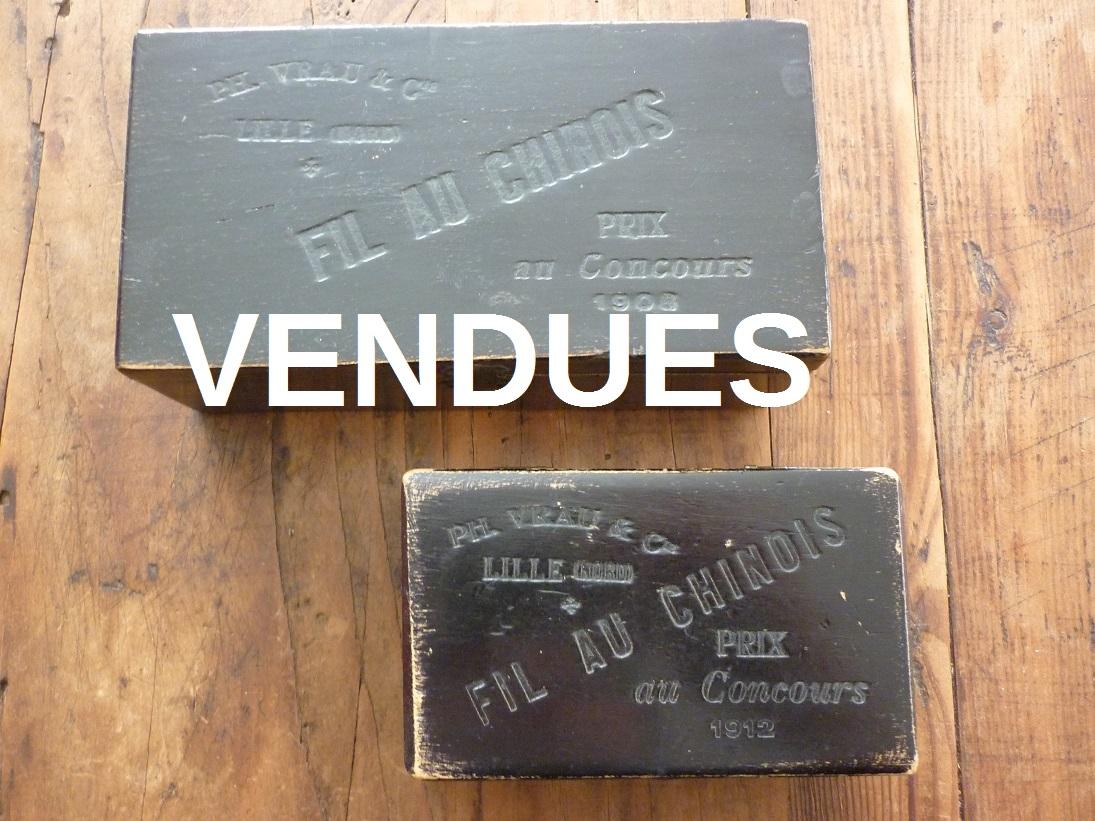 bo tes en bois fil au chinois ann es 1910 broc 39 en 39 guche. Black Bedroom Furniture Sets. Home Design Ideas