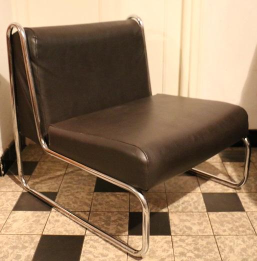 fauteuil design ann es 1970 broc 39 en 39 guche. Black Bedroom Furniture Sets. Home Design Ideas