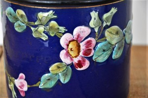 pot émaillée fleuri (11)