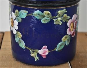 pot émaillée fleuri (9)